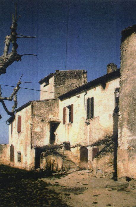 Maison de Langesse: Façade sud, vue partielle
