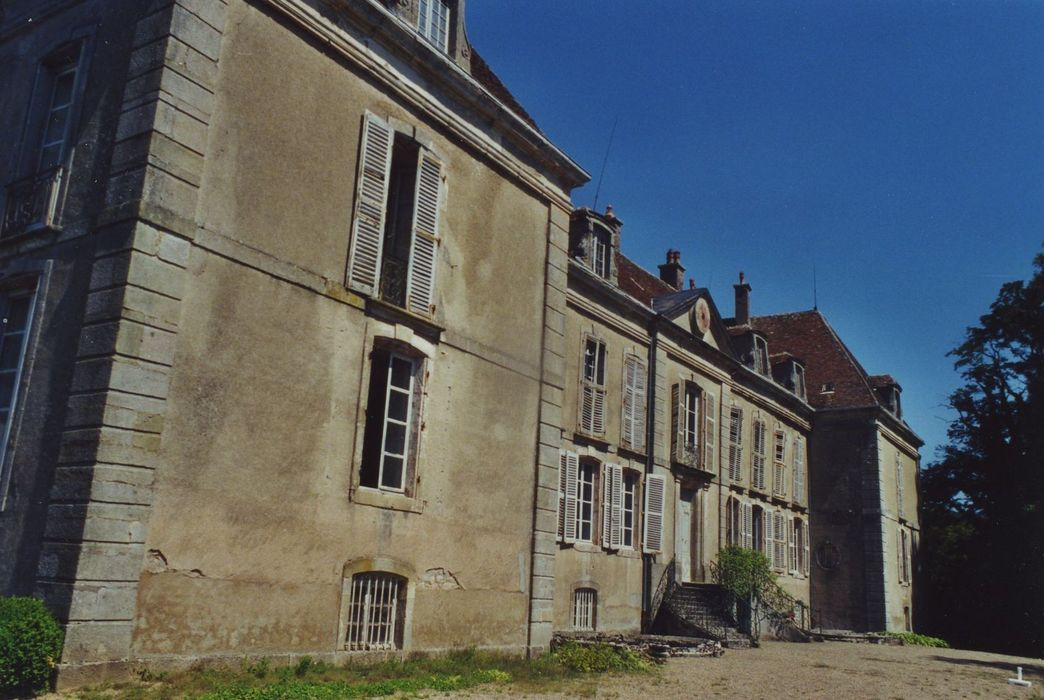 Château de La Roche: Façade sud, vue générale