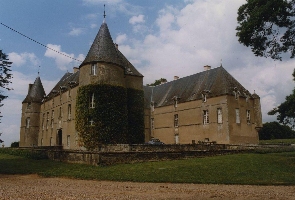 Château de Coulon: Ensemble sud-ouest, vue générale