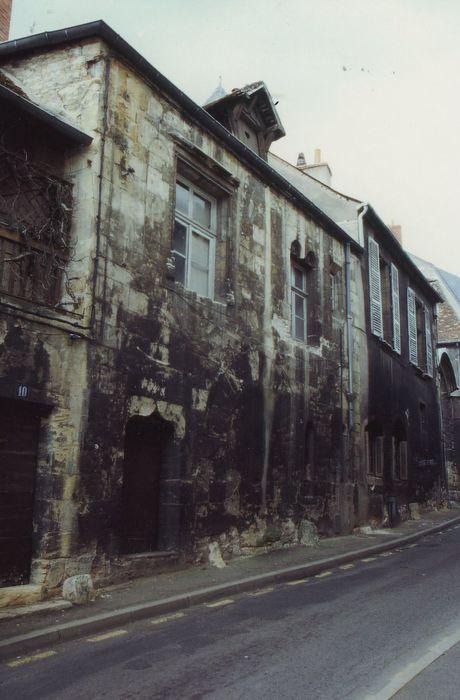 Hôtel de Maumigny: Façade sur la rue Creuse, vue générale