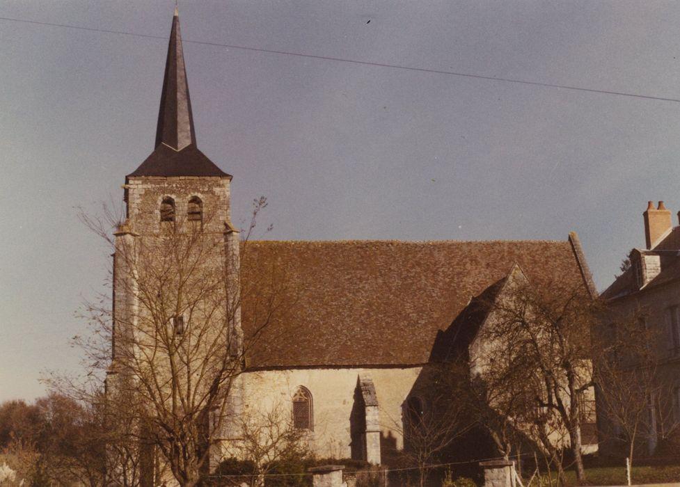 Eglise: Façade latérale nord, vue générale