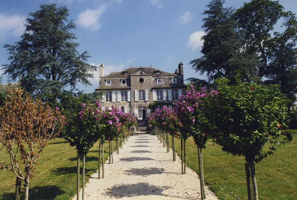 Château de La Plaze: Ensemble sud, vue générale