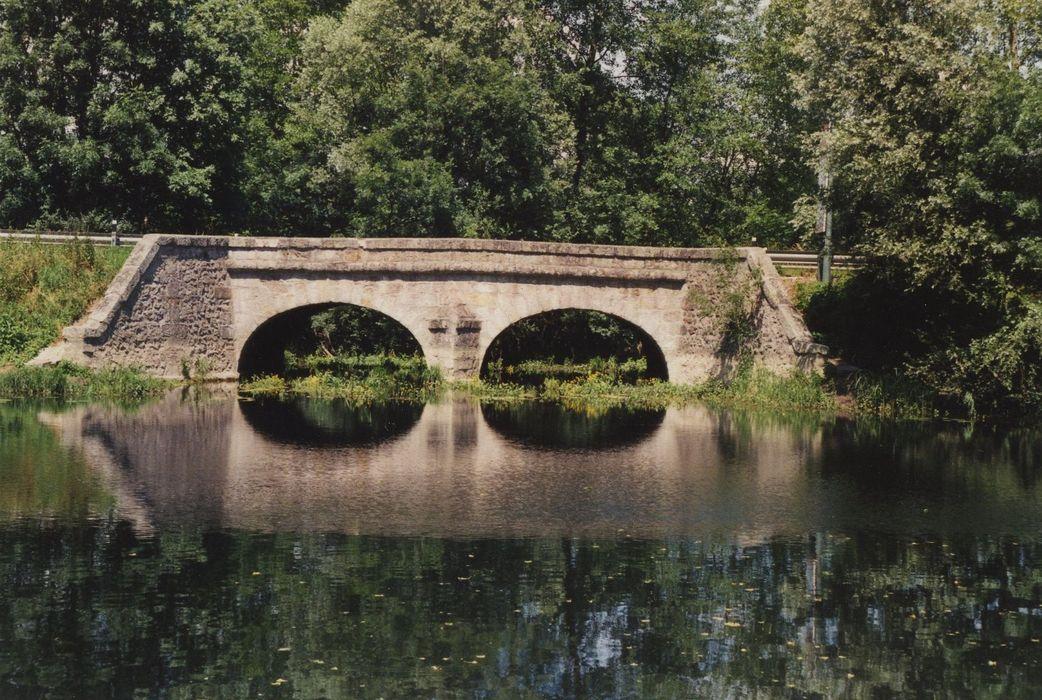 Pont dit «arche du gué qui se noie»: Face sud, vue générale