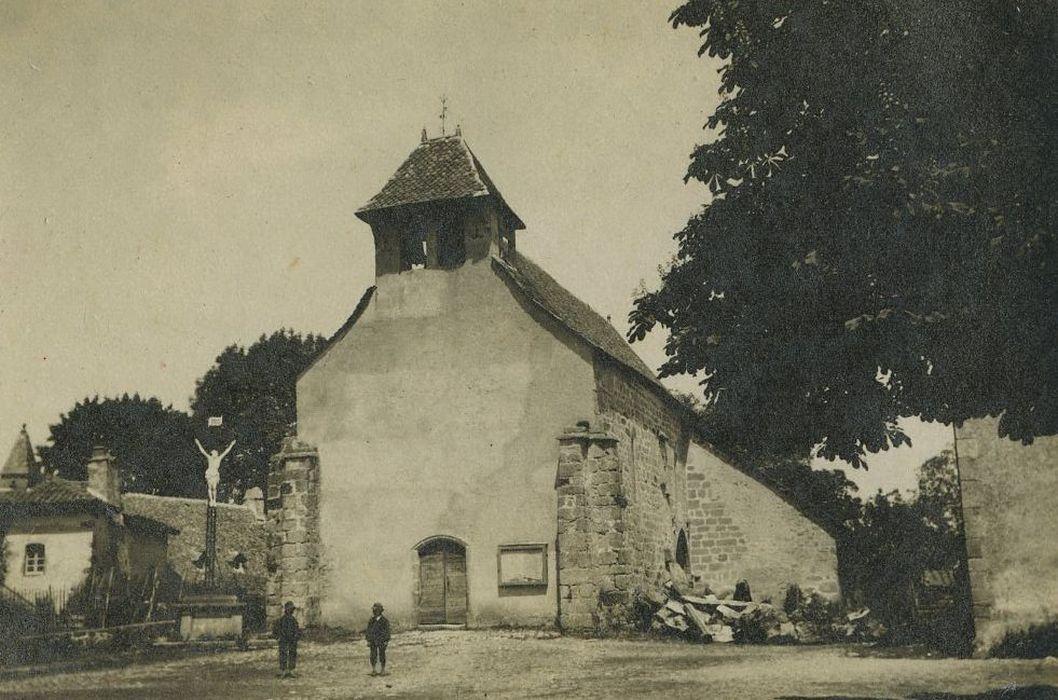 Eglise Saint-Géraud: Façade occidentale, vue générale