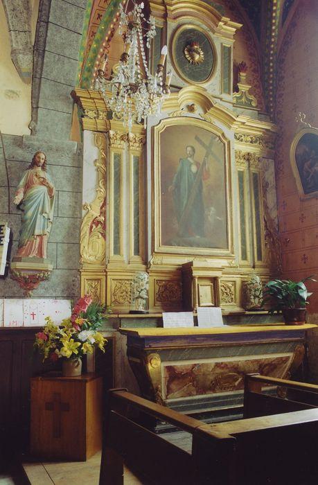 retable du Sacré-Coeur et tableau : Sacré-Coeur