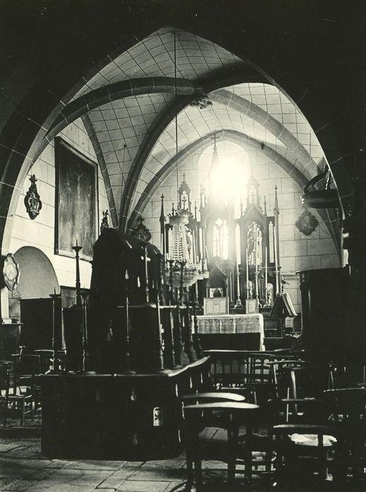 Eglise Saint-Hilaire: Choeur, vue partielle