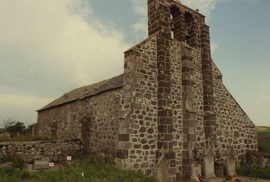 Eglise Saint-Roch de Fortuniès: Ensemble nord-ouest, vue générale