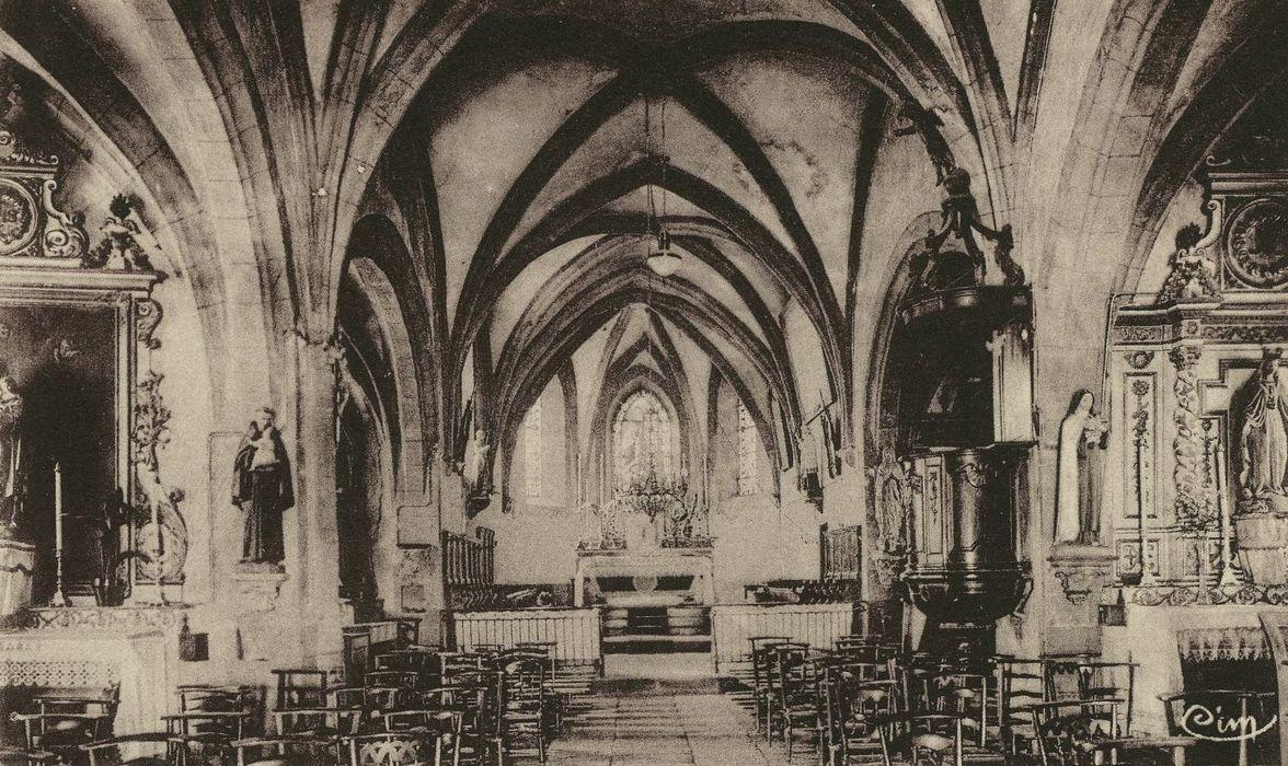 Eglise Saint-Géraud: Nef, vue générale