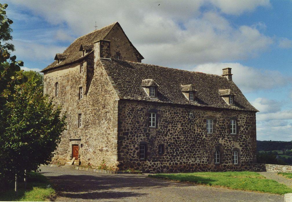 Château de Ferluc: Façades sud et est, vue générale
