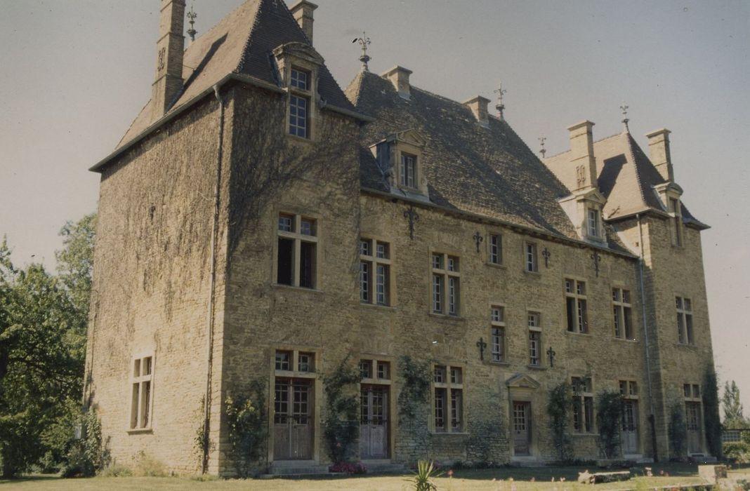 Château de Beaulieu: Ensemble sud-est, vue générale