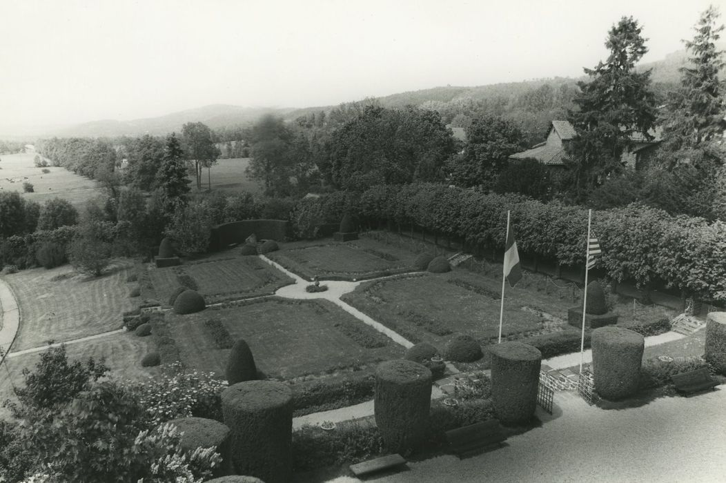 Parc du château Lafayette