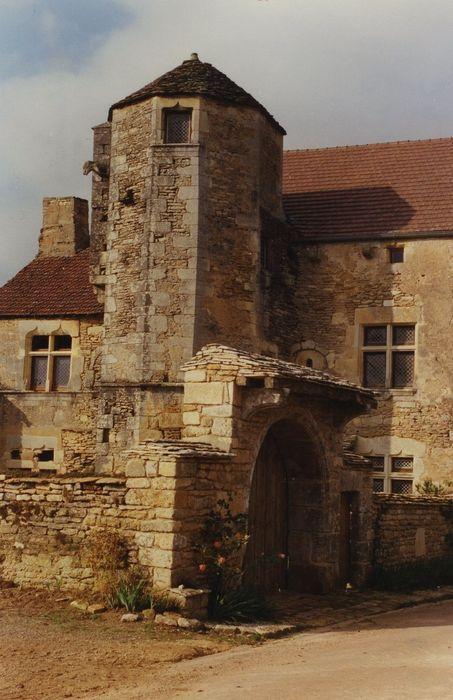 Maison des Goix: Façade sud-est, vue partielle