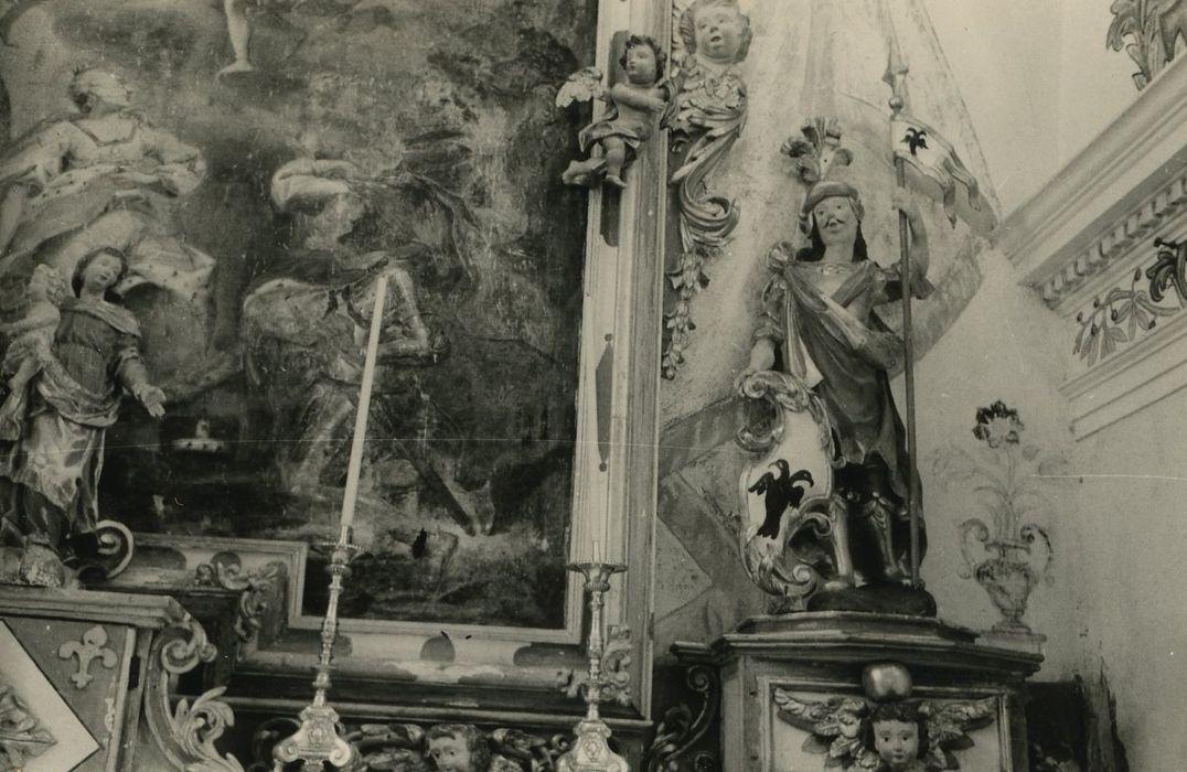 statue: Saint Sigismond