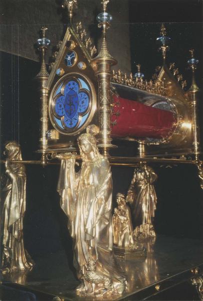 châsse du voile de sainte Foy