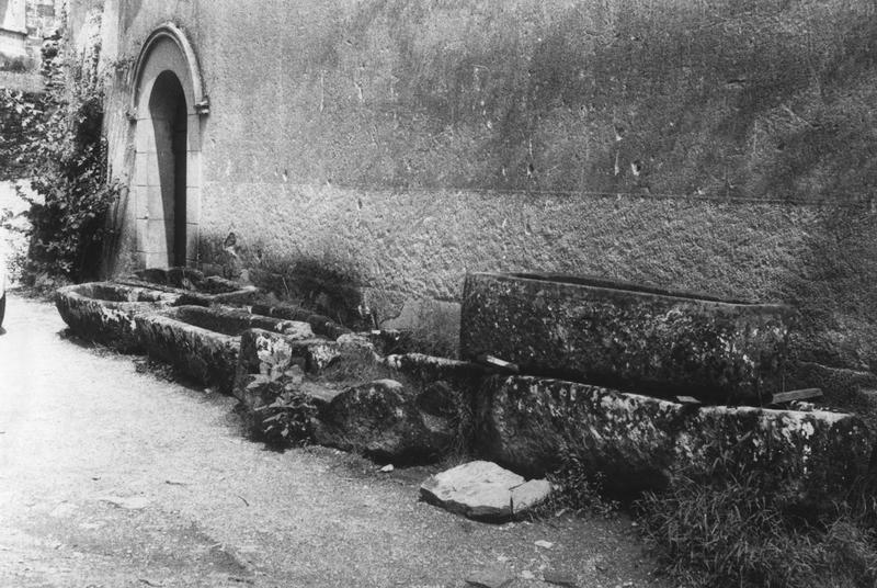 vues des sarcophages n°4 à 11