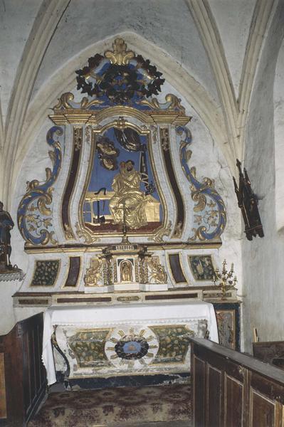 autel, retable, tabernacle (autel secondaire) de saint Joseph