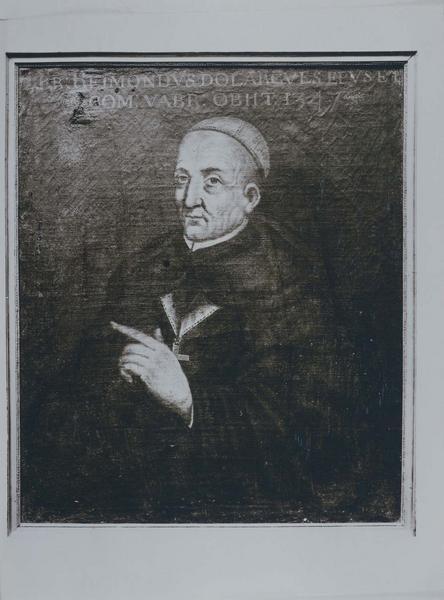 tableau, cadre : portrait de Raymond d'orlagues