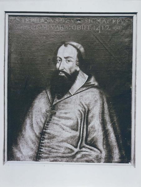 Tableau, cadre : portrait d'Etienne de Vassignac