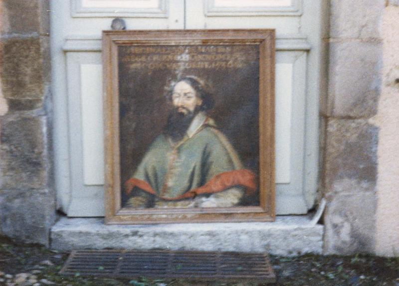Tableau, cadre : portrait de Réginald de Martigny
