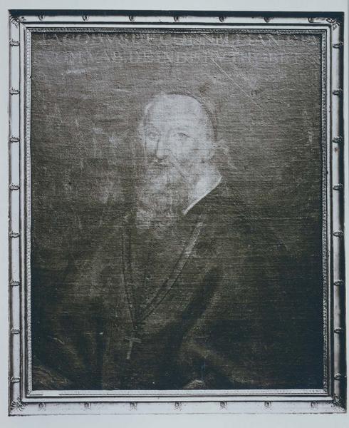 Tableau, cadre : portrait de Jacques de Corneilhan