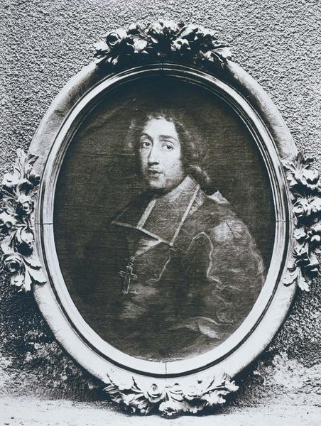 Tableau, cadre : portrait d'Isaac Habert