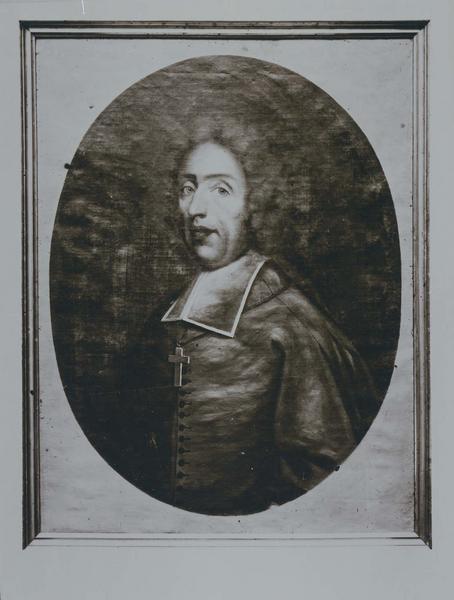 Tableau, cadre : portrait de Louis de Baradat