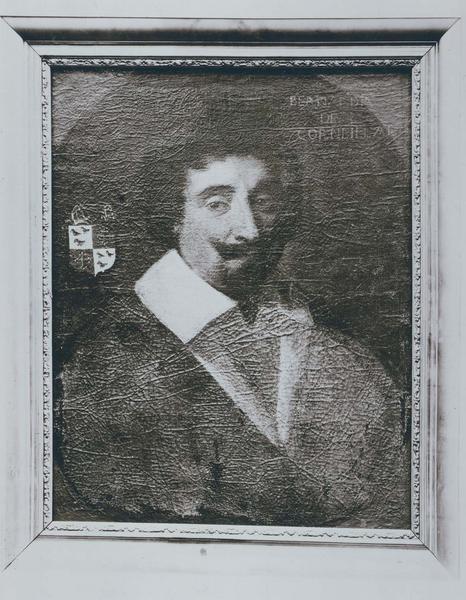 Tableau, cadre : portrait de Bernardin de Corneilhan