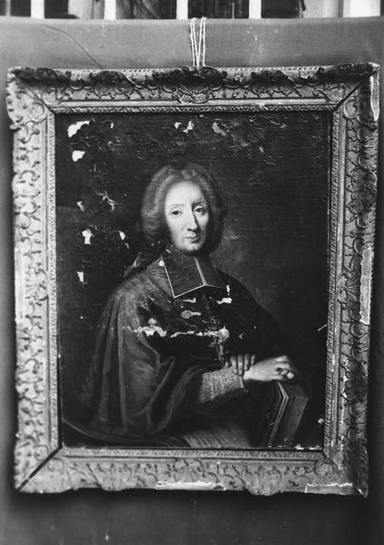 tableau, cadre : portrait de Jean-Armand de la Vove de Tourouvre