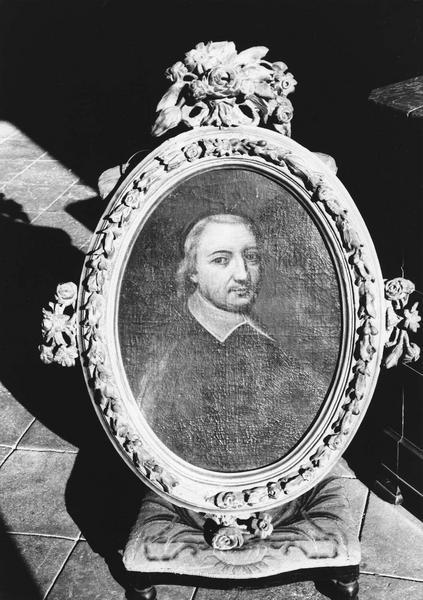 Tableau, cadre : portrait de Charles de Noailles