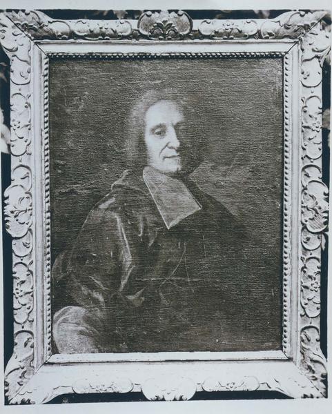 tableau, cadre : portrait de Paul-Louis-Philippe de Lusignen-lezay