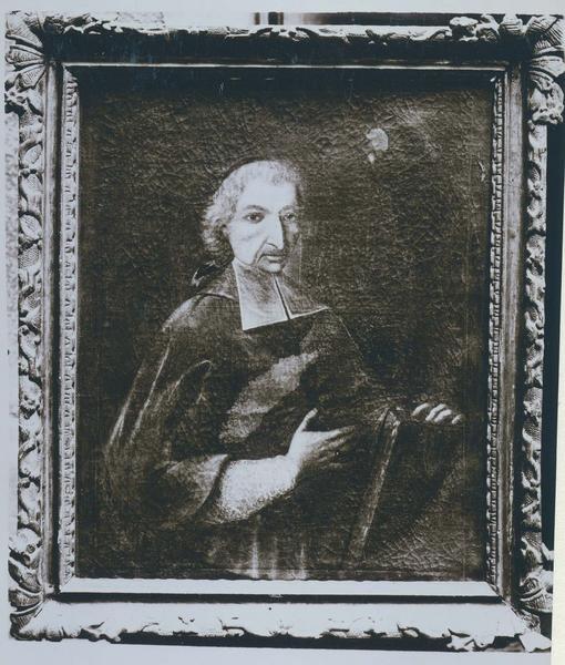 Tableau, cadre : portrait de Jean d'Ize de Saléon