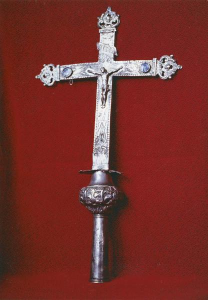 croix de procession, vue de face