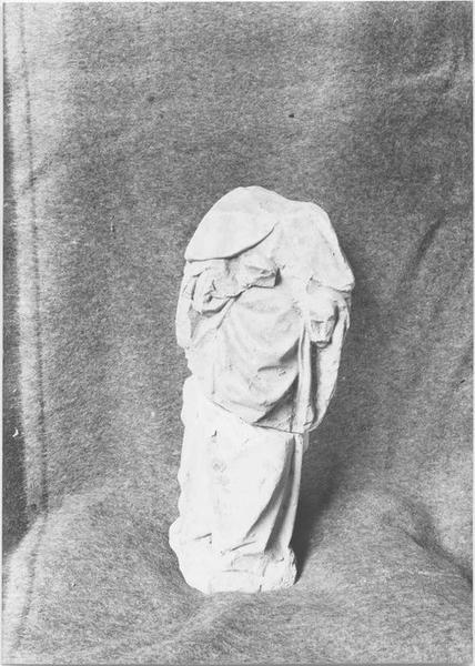 Statue (statuette): évêque non identifié, vue générale