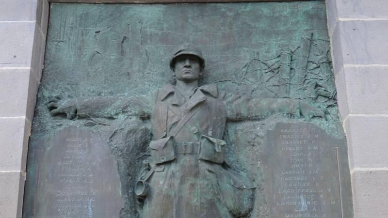 Monument aux morts de Mur-de-Barez