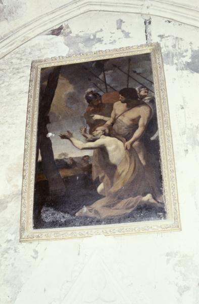 Tableau, cadre : le Martyre de saint André