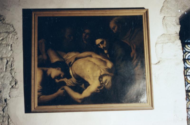 tableau : lamentation sur le Christ mort, vue générale