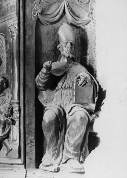 Chaire à prêcher, détail