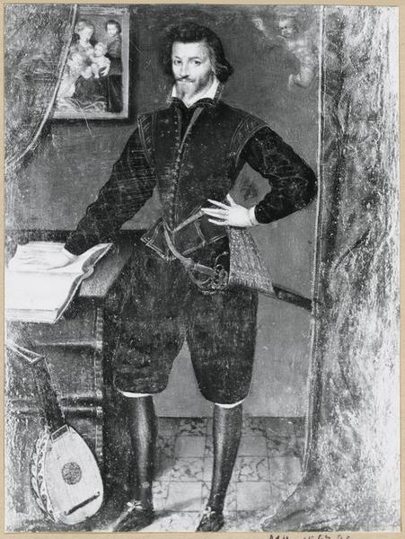 Tableau : portrait de César de Notre-Dame