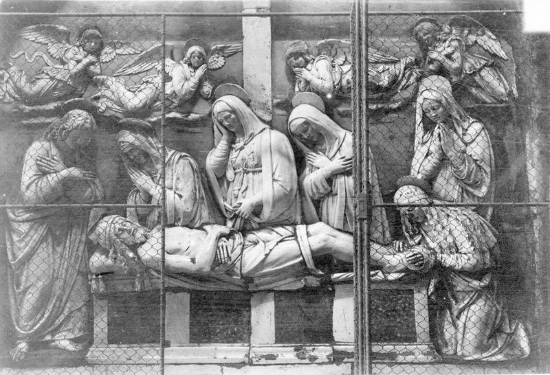 Bas-relief : la Mise au tombeau