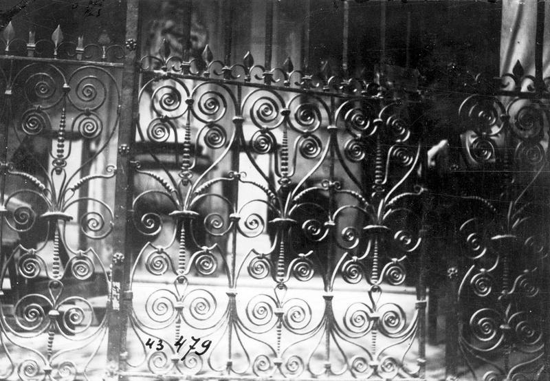 Clôture liturgique (grille de communion)