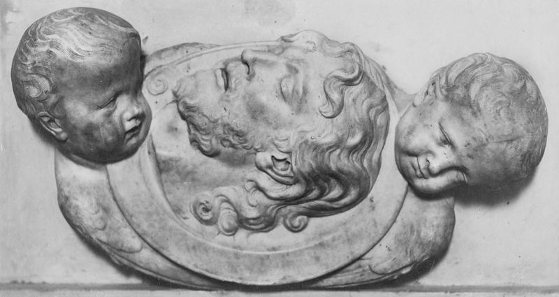 Bas-relief : le Chef de saint Jean-Baptiste