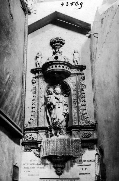 Statue : Vierge à l'Enfant dite Notre-Dame-de-Bon-Secours