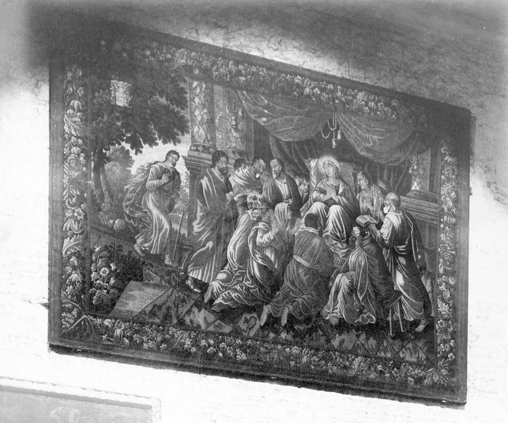10 pièces murales : scènes de la vie de la Vierge