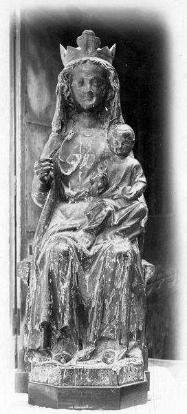 Statue : Vierge à l'Enfant dite Notre-Dame-de-Confession