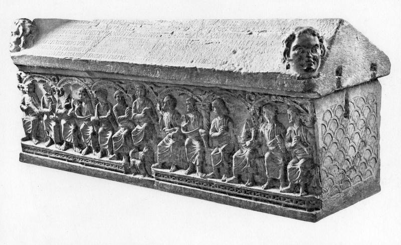 Sarcophage dit des compagnons de sainte Ursule