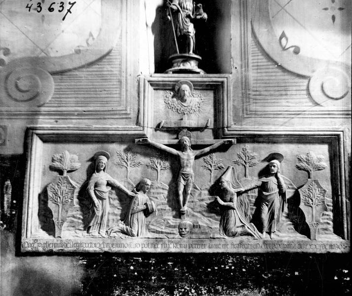 Bas-relief de Guillaume de Rix