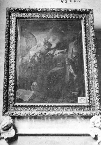 Tableau : Mort de saint François