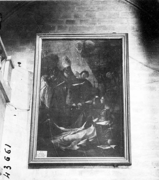 Tableau : l'Agonie de sainte Marthe
