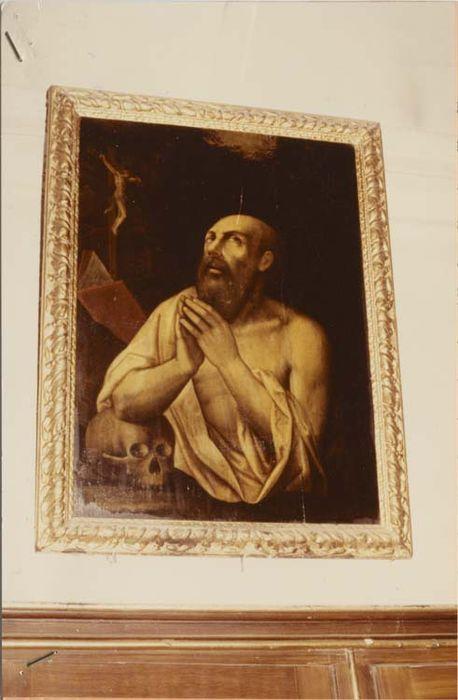 Tableau et son cadre : Saint Jérôme