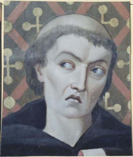 Peinture murale: scène de martyre, détail